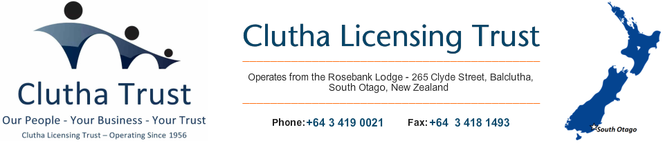 Clutha Licensing Trust (CLT)